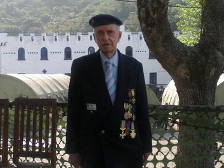 Nota de falecimento - Veterano Tenente-Coronel Mario Raphael Vannutelli
