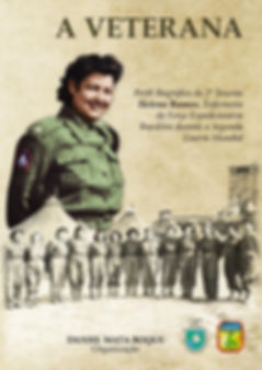 Livro A Veterana - Perfil biográfico da enfermeira da FEB Helena Ramos