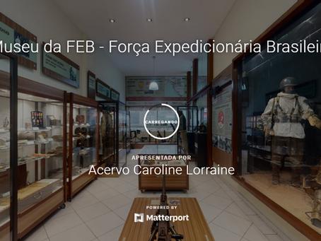 Visita virtual ao Museu da Casa da FEB