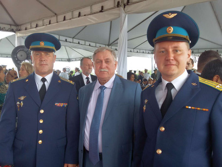Intercâmbio: visita do Vice-Presidente do Comitê de Veteranos de Guerras da Federação da Rússia