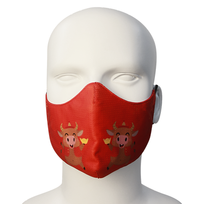 3D Mask Tet Year of the Ox