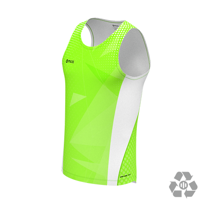 Singlet Marathon Male Sharp Green Neon