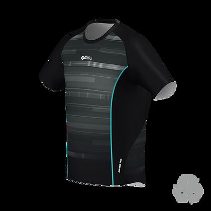 Male Running T-shirt Black Code