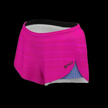 Women's All in One Running Sunrise Almond Shorts