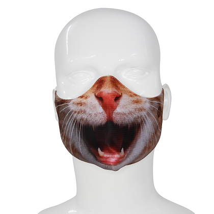 3D Mask Cat Face