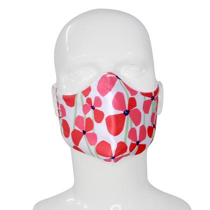3D Mask Poppy Flower