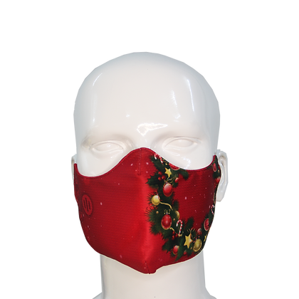 3D Mask Christmas Laurel