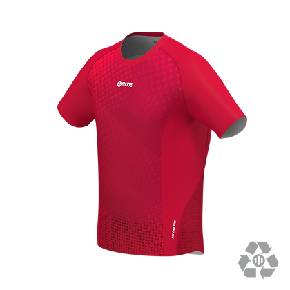 Male Running T-shirt Red