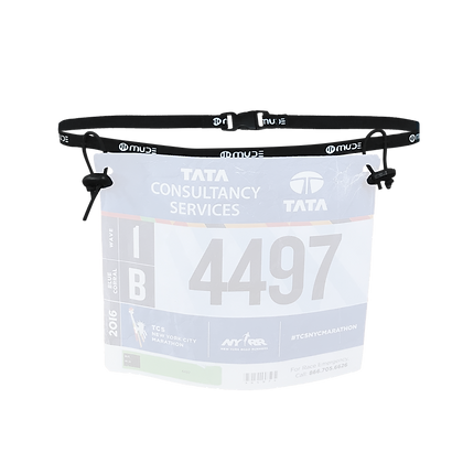 Race Bib Number Belt Zen