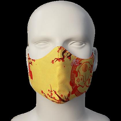 3D Mask Tet Yellow