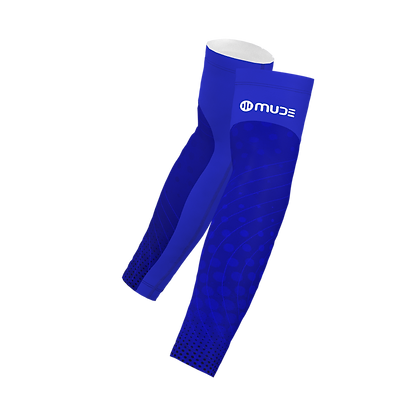 Arm Sleeves Sonar Blue