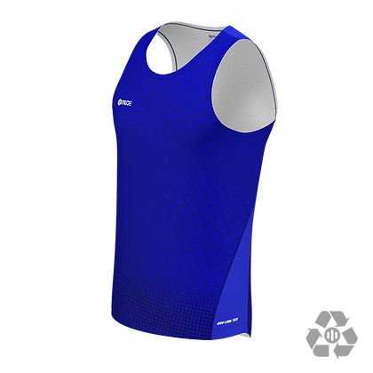 Singlet Marathon Male Sonar Blue