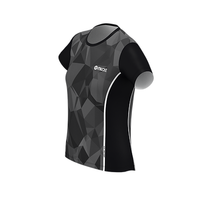 Female Running T-shirt PRISMA Grey
