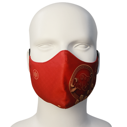 3D Mask Tet Red
