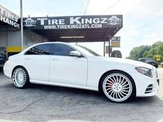 "Mercedes-Benz on 22"" Rucci wheels"