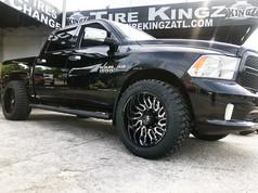 Dodge Ram on 22_ XF Off Road wheels