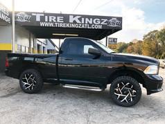 Dodge Ram on Xtreme Mudder wheels