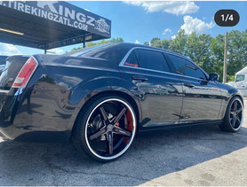 "Chrysler 300 on 24"" Lexani wheels"