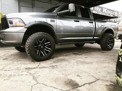 Dodge Ram on 20_ Xtreme Mudder wheels
