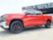 Chevrolet Silverado on 24_ Replica wheel