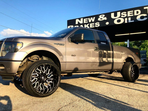 """Ford F-150 on 24"""" XF Off-Road wheels"""
