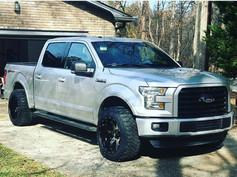 "Ford F-150 on 20"" Gima wheels"