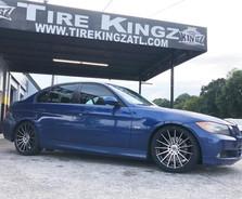 "BMW on 18"" Spec-1 wheels"