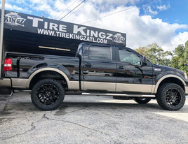 """Ford F-150 on 20"""" BBY Off Road wheels"""