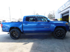 Toyota Tacoma on XF-Offroad wheels