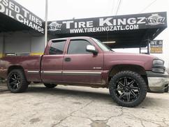"Chevrolet Silverado on 20"" BBY wheels"