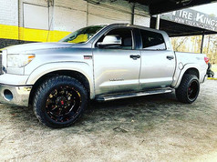 "Toyota Tundra on 20"" Xtreme Mudder wheel"