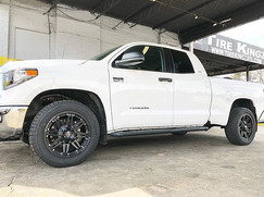Toyota Tundra on XF Offroad wheels