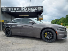 """Dodge Charger on 20"""" Hellcat Replica whe"""