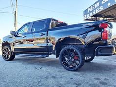 "Chevrolet Silverado on 24"" DUB wheels"