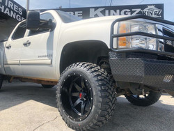 "Chevrolet Silverado on 20"" Havoc wheels"