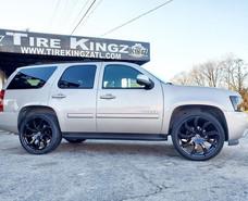 "Chevrolet Tahoe on 24"" Xcess Wheels"