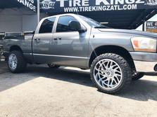 Dodge Ram on 22_ TIS wheels