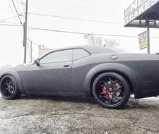 "Dodge Challenger Hellcat on 24"" Forgiato"