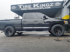 "Dodge Ram on 20"" Havoc wheels"