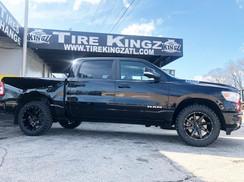 "Dodge Ram on 20"" BBY wheels"