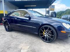 "Mercedes-Benz CLK 350 on 20"" AXE wheels"