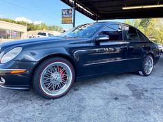 "Mercedes-Benz on 17"" Texan Wire Wheels"