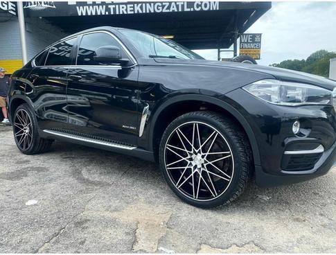 "BMW on 22"" AXE wheels"