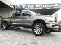 """Dodge Ram on 20"""" Hostile wheels"""