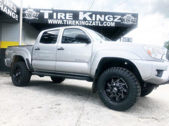 "Toyota Tacoma on 17"" XF Off-Road wheels"