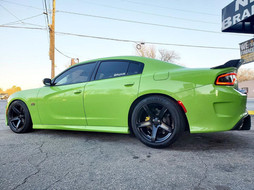 """Dodge Charger on 20"""" Replica wheels"""