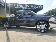 Dodge Ram on 24_ Avenue wheels