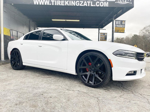 """Dodge Charger on 24"""" Replica wheels"""