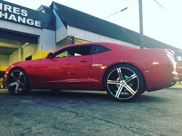 Chevrolet Camaro On Elure wheels