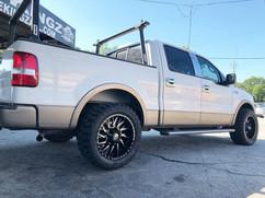 "Ford F-150 on 22"" BBY wheels"